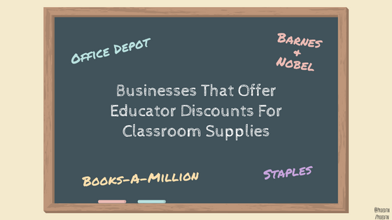 Businesses That Offer Discounts forEducators