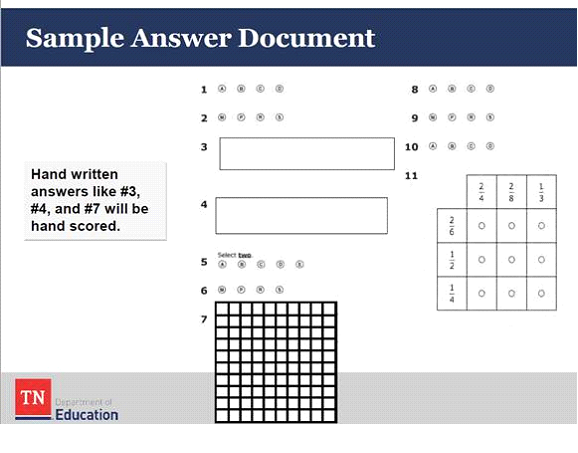 Determining Testing Irregularities in Students' Answers