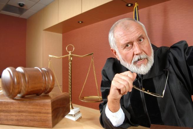 Uncertain judge